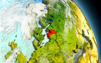 Latvija pasaules kartē